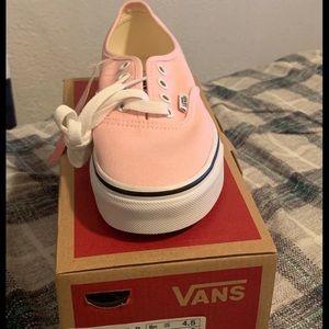 Pink Vans Sz. 6 Brand New